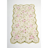 Meadow  Silk Rose Rug
