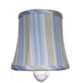 House Inc. Cottage Srtipe Blue Nightlight