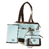 Chocolate Ice Classic Four Piece Tote Set