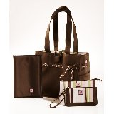 Mocha Mint Four Piece Classic Tote Set