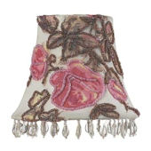 Jubilee Rose Print Chandelier Shade