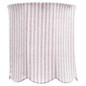 Jubilee Pink Stripe Scallop Drum Medium Shade
