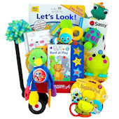 Having Fun with Baby Einstein Gift Basket