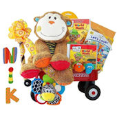 Baby Einstein Monkey Madness  Gift Basket