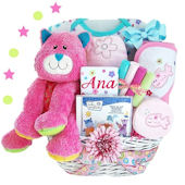 Personalized Fun at the Barnyard Girl Gift Basket