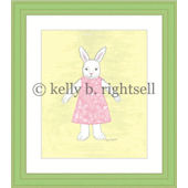 Ameilia Bunny Wall Art