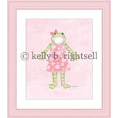 Ella Froggy  Wall Art