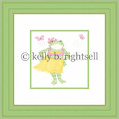 Hula  Froggy  Wall Art