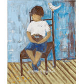 Little Boy Blue Wall Art
