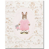 Toffee Tolie Bunny Wall Art