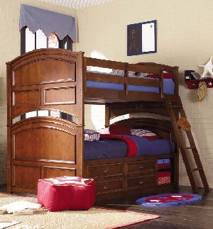 Deer Run Captains Bunk Bed