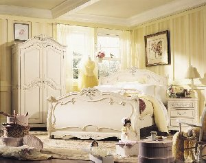 Romance Full Sleigh Bed The Frog And The Princess