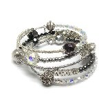 Drama Wrap Personalized Bracelet