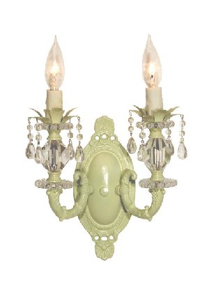 Light Up the Nursery with Maura Daniel Double Lily Sconce