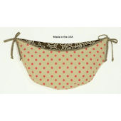 N. Selby Raspberry Dot Toy Bag