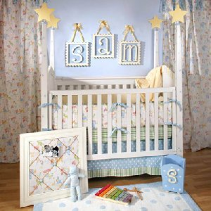 Under the Big Top Four Piece Crib Set