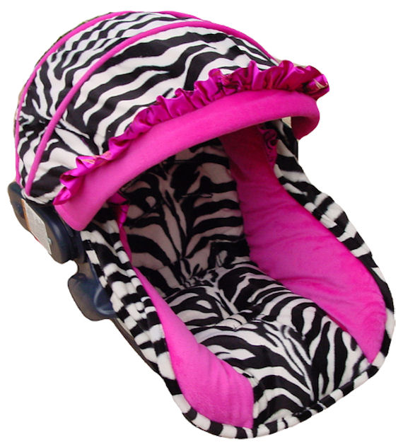 Baby Wild Zebra Funky Infant Car Seat Cover The Frog And