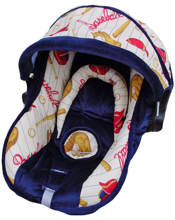 Nollie Baby Hank Infant Car Seat Cover