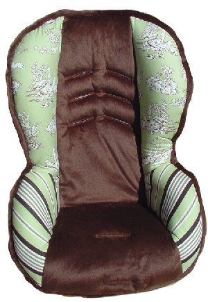 Nollie Sage Toddler Car Seat Cover The Frog And The Princess