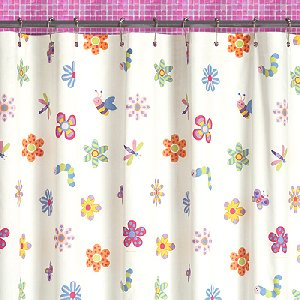 Girl Shower Curtains Curtains Blinds