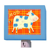 Cow Says Moo Night LIght