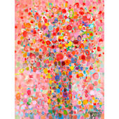 Floral Bouquet Pink Wall Art