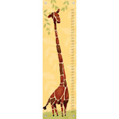 Gillespie Giraffe Growth Chart Multiple Colors
