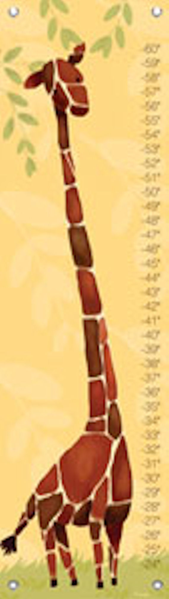 Gillespie giraffe growth chart multiple colors the frog and the gillespie giraffe growth chart multiple colors nvjuhfo Image collections