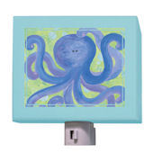Indigo Octopus Nightlight