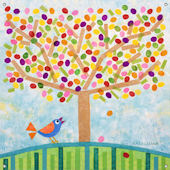 Jellybean Tree Wall Mural