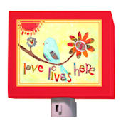 Love Lives Here Nightlight
