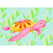 Maggie the Sea Turtle Wall Art