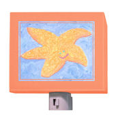 Orange Starfish Nightlight