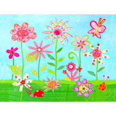Perfect Flower Patch Wall Art
