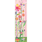 Canvas Woodland Fairies Growth Chart