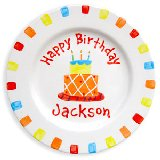 Happy Birthday Boy Personalized Plate