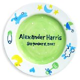 Charm Boy Personalized Plate