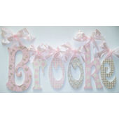 A Charmed Life Brooke Wooden Wall Letter