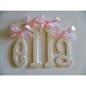 A Charmed Life Ella Wooden Wall Letter