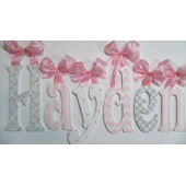 A Charmed Life Hayden Wooden Wall Letter