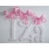 A Charmed Life Iza Wooden Wall Letter