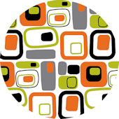 Wall Pops Retro Orange Set 5 Dots