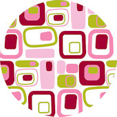 Wall Pops Retro Pink Set 5 Dots