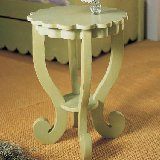 Scallop Collection End Table