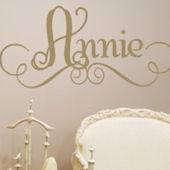 Annies Personalized Wall Sticker Decal