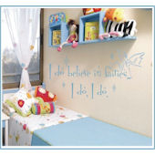 I Believe in Fairies Wall Sticker Decal