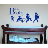 Boys Parade Wall Sticker Decal