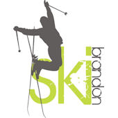 Personalized Skier Wall Decal Sticker