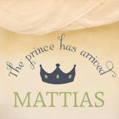 The Prince Has Arrived Wall Sticker Decal