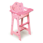 Blossoms and Butterflies Doll High Chair